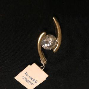 Lia Sophia Jewelry - Large Stone Omega Slide